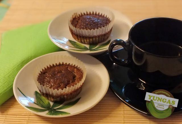 Gyömbéres zöldbanán muffin