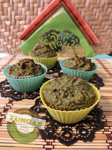 Sütőtökös parajos zöldbanán muffin