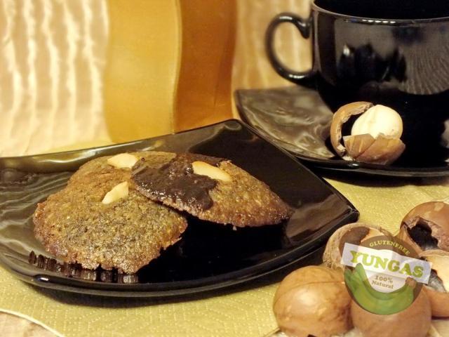 Makadámdiós keksz